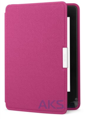 Обложка (чехол) Amazon Kindle Paperwhite Leather Cover Pink (оригинал)
