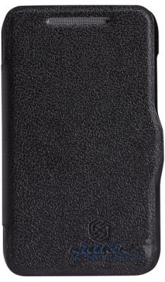 Чехол Nillkin Fresh Leather Series HTC Desire 200 Black