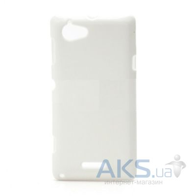 Чехол Celebrity TPU cover case for Sony Xperia L C2105 White