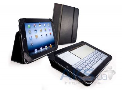 Чехол для планшета Tuff-Luv Type-View Series Leather Case Cover for iPad 2,3,4 Black (C12_30)