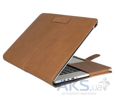 Чехол Decoded Leather Slim Cover for MacBook Pro Retina 13 Brown (D4MPR13SC1BN)