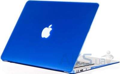 Чехол Kuzy Leather Case for MacBook Air 13 Blue