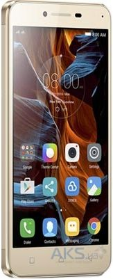 Дисплей (экраны) для телефона Lenovo Vibe K5 Plus A6020, Lemon 3 + Touchscreen Original Gold