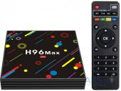 Медиаплеер Android TV Box H96 Max H2  4/64 GB