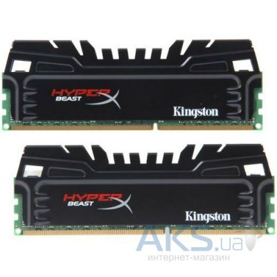 Оперативная память Kingston DDR3 16GB (2x8GB) 1600 MHz (KHX16C9T3K2/16X)