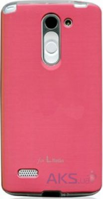 Чехол VOIA Jell Skin for LG Optimus L80+ Dual (D335/Bello) Pink