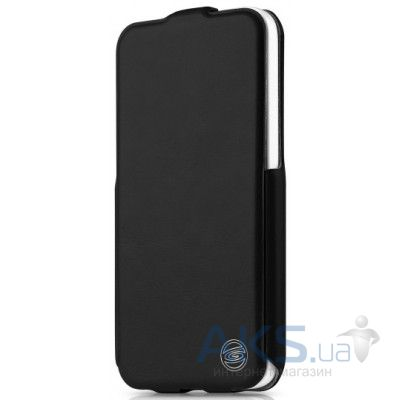 Чехол ITSkins Plume Artificial for iPhone 5C Black (APNP-PLUME-BLCK)