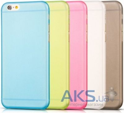 Чехол REMAX Ultra Thin Silicon Case Samsung E500 Galaxy E5 Blue