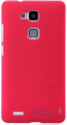 Чехол Nillkin Super Frosted Shield Huawei Ascend Mate 7 Pink
