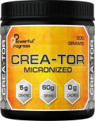 Креатин Powerful Progress Crea-Tor Micronized 300g натуральний