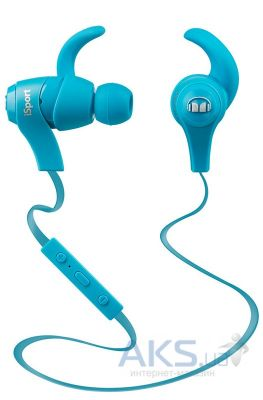 Наушники (гарнитура) Monster iSport Bluetooth Wireless In-Ear Blue