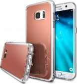 Чехол Ringke Fusion Mirror Samsung G935 Galaxy S7 Edge Rose Gold (825243)