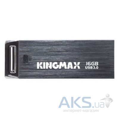 Флешка Kingmax UI-06 16GB WaterProof (KM16GUI06Y) Black