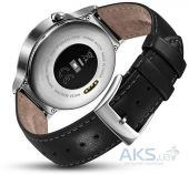 Умные часы Huawei Watch Stainless Steel Leather Black