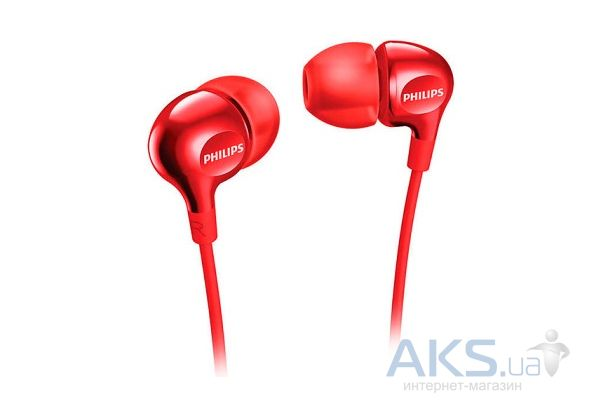 Наушники Philips SHE3700RD/00 Red