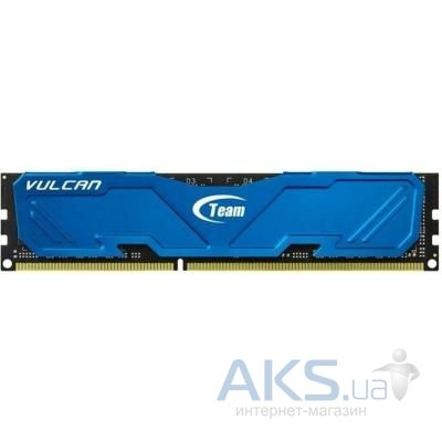 Оперативная память Team DDR3 8GB 1600 MHz Vulcan Blue (TLBED38G1600HC901)