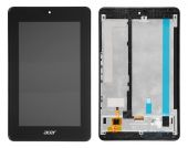Дисплей для планшета Acer Iconia B1-730 + Touchscreen with frame Original Black