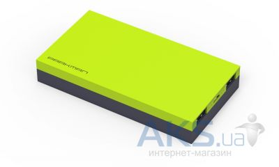 Повербанк power bank Parkman Modern H2 Green/Black