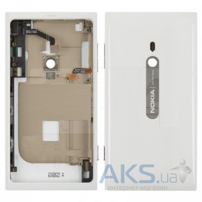 Корпус Nokia 800 Lumia original full White