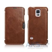 Чехол iCarer Side-open Vintage for Samsung Galaxy S5 Brown