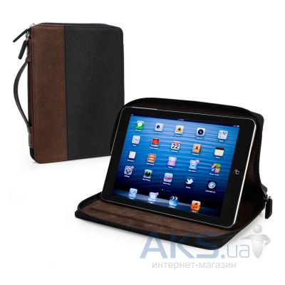 Чехол для планшета Tuff-Luv Roma Faux Leather Zip Case Cover (with Sleep Function) for the Apple iPad mini Black / Brown (I7_26)