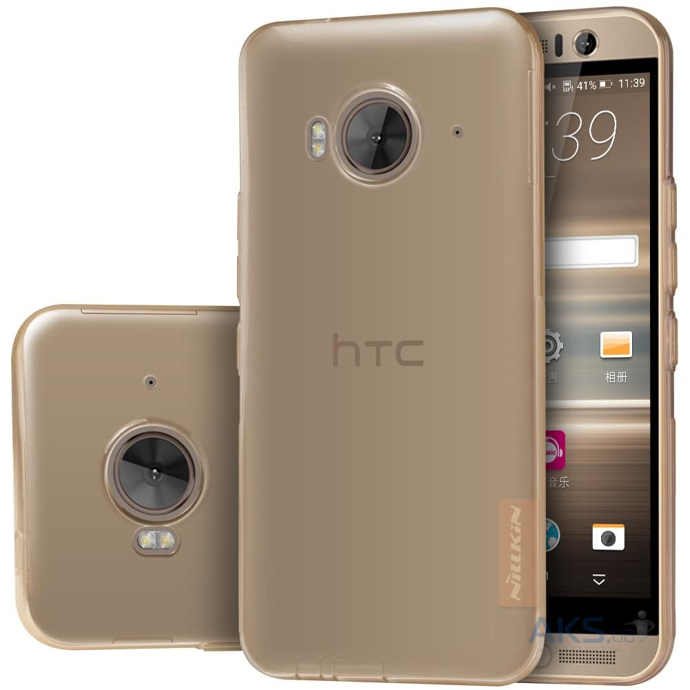 Чехол Nillkin Nature Series HTC One M9e Transparent Gold