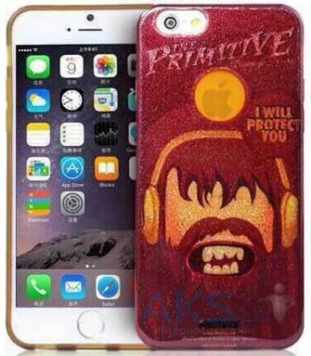 Чехол Remax Primitive Series Apple iPhone 6, iPhone 6S Vinous