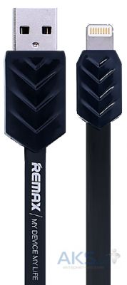 Кабель USB Remax Fishbone Lightning Cable Black
