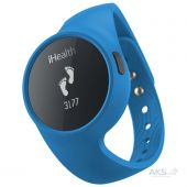 Спортивный браслет iHealth Wireless Activity and Sleep Blue (ZRYAM3)