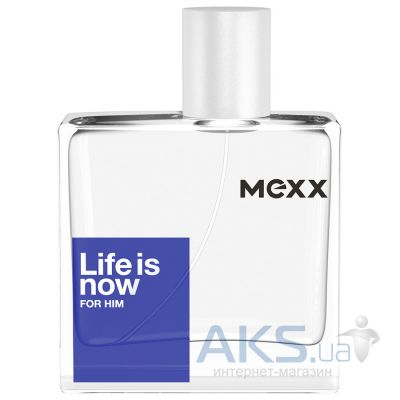 Mexx Life is Now for Him Туалетная вода (тестер) 50 мл