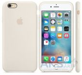 Вид 2 - Чехол Apple Silicone Case for iPhone 6S Antique White (MLCX2)