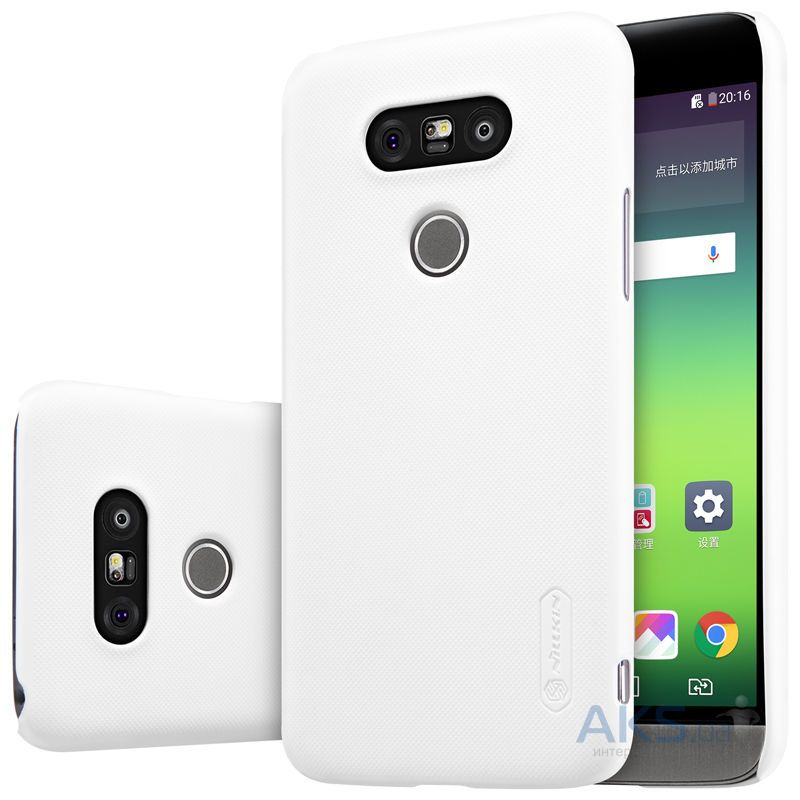 Чехол Nillkin Super Frosted Shield LG H850 G5 White