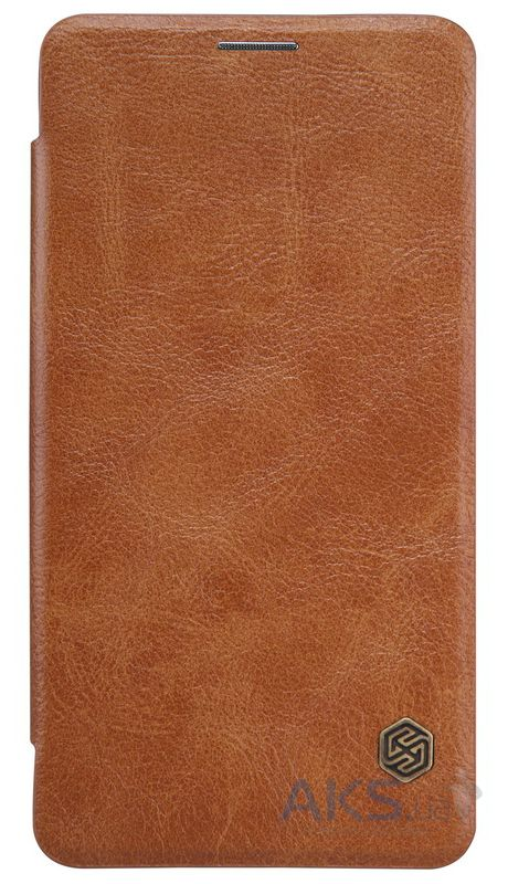 Чехол Nillkin Qin Leather Series OnePlus X Brown