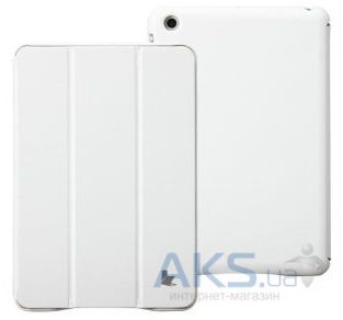 Чехол для планшета JisonCase Executive Smart Case for iPad mini 2 White (JS-IM2-01H00)