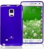 Чехол Mercury Jelly Color Series Samsung N915 Galaxy Note Edge Blue