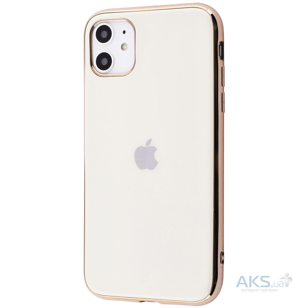 Чехол 1TOUCH GLOSSY LOGO Apple iPhone 11  Gold