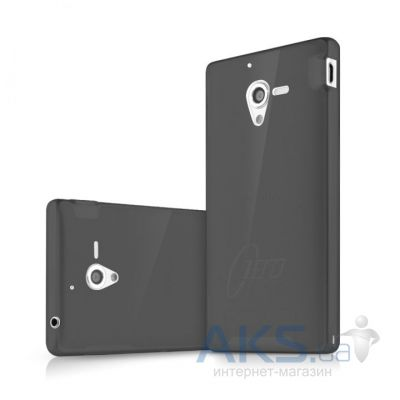 Чехол ITSkins Zero.3 cover case for Sony Xperia ZL black (YZL ZERO3 BLCK)