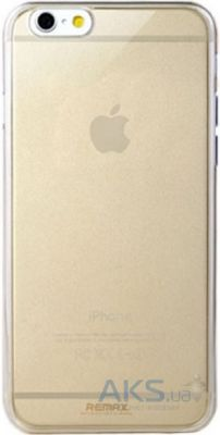 Чехол Remax Ultra Thin TPU Apple iPhone 6, iPhone 6S Golden