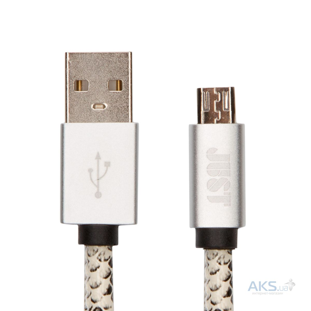 Кабель USB JUST Unique Micro USB Cable Snake (MCR-UNQ-SNK)