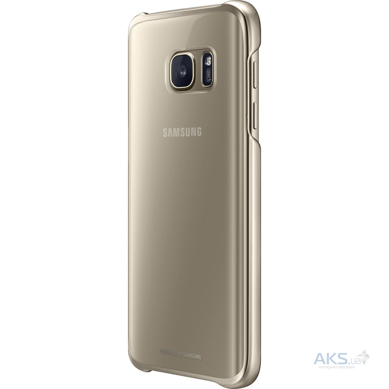 Чехол Samsung Clear Cover Series G930 Galaxy S7 Gold (EF-QG930CFEGRU)
