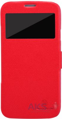 Чехол Nillkin Fresh Series Leather Case For Samsung i9152 Red