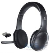 Гарнитура для компьютера Logitech Wireless Headset H800 Black