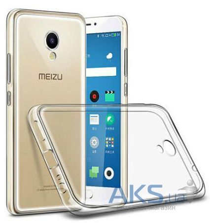 Чохол TOTO TPU case clear Meizu M5 Transparent