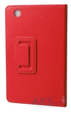Чехол для планшета TTX Leatherette case для Lenovo IdeaTab S5000 Red