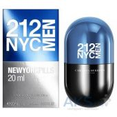 Carolina Herrera 212 NYC Men Pills Туалетная вода 20 ml