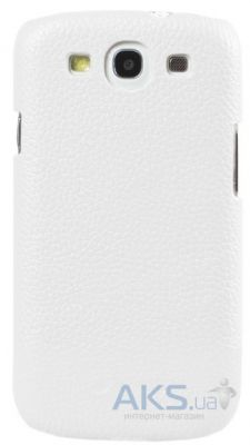 Чехол Melkco Snap leather cover for Samsung i8262 Galaxy Core Duos White (SS8262LOLT1WELC)