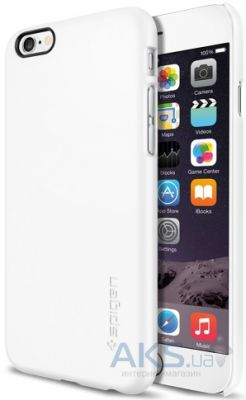 Чехол SGP Case Thin Fit Smooth for Apple iPhone 6/6S White (SGP10937)