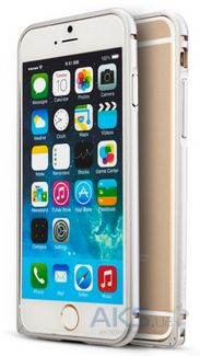 Чехол Mooke Metal Bumper for iPhone 6 Plus Silver
