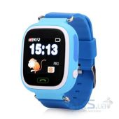 Умные часы Smart Baby Q100 GPS-Tracking, Wifi Watch (Blue)