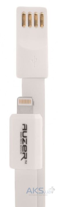 Кабель USB Auzer Lightning USB Cable White (AC-L1)